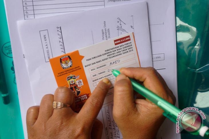 KPU coklit data pemilih untuk Pemilu 2019