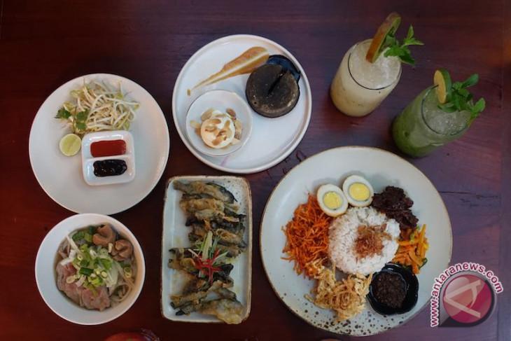 Menikmati masakan Asia di bistro Bogor