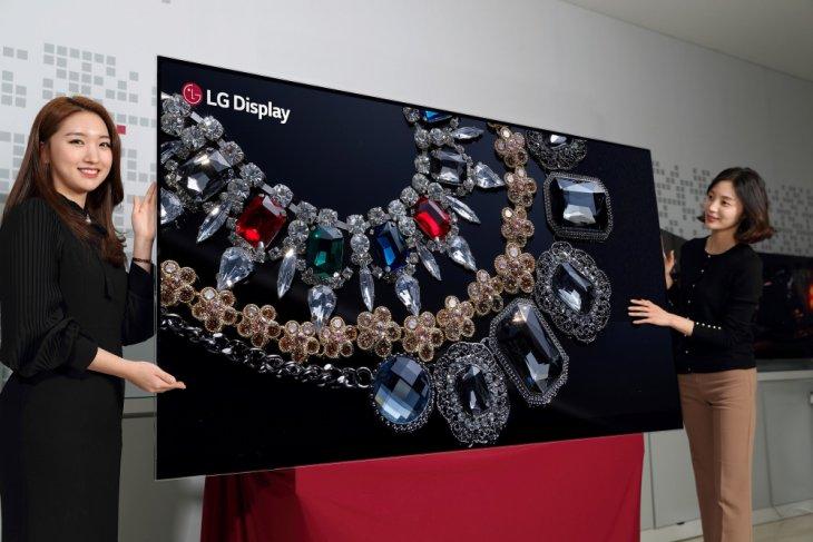 LG akan pamerkan TV layar OLED 8K 88 inci di CES