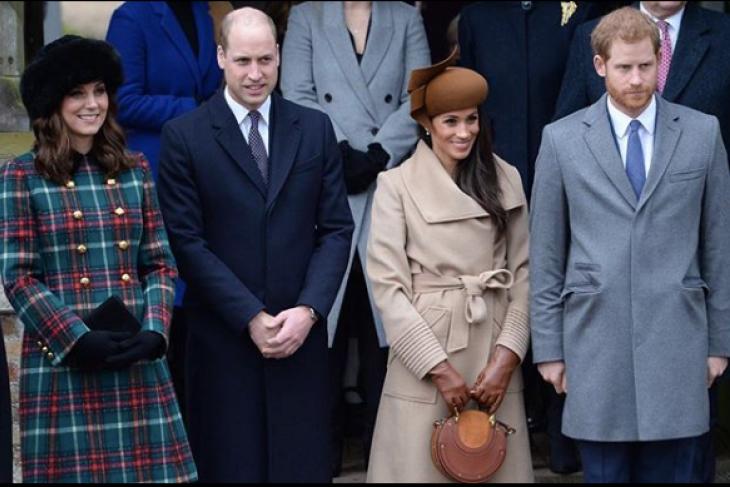Beda kepribadian Kate Middleton dan Meghan Markle berdasar pose