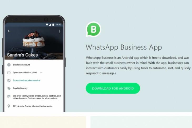 WhatsApp resmi hadirkan aplikasi Bisnis