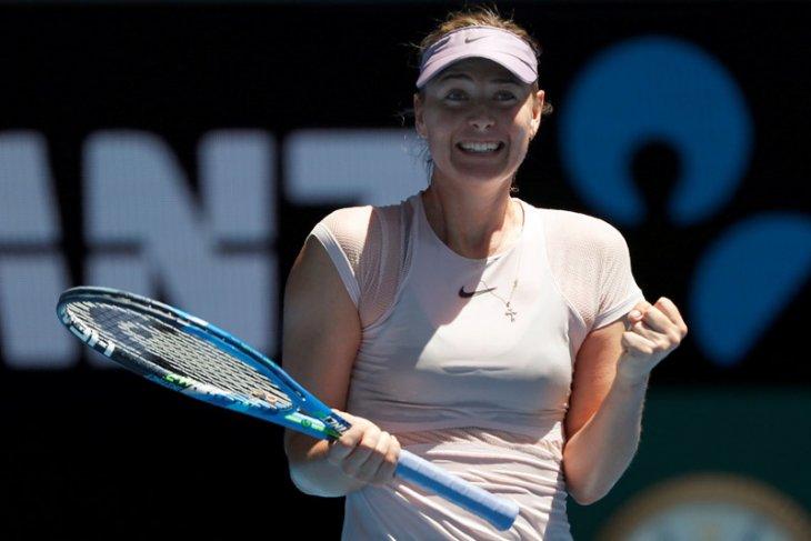 Sharapova singkirkan Ostapenko di Roma