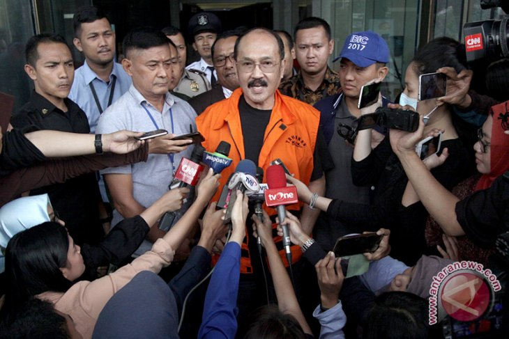 Fredrich Yunadi Ditahan KPK