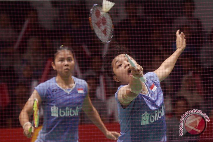 Greysia/Apriani terhenti pada semifinal kejuaraan dunia