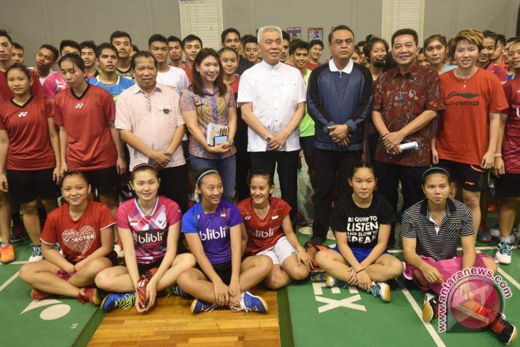CDM Indonesia Kunjungi Pelatnas Bulutangkis