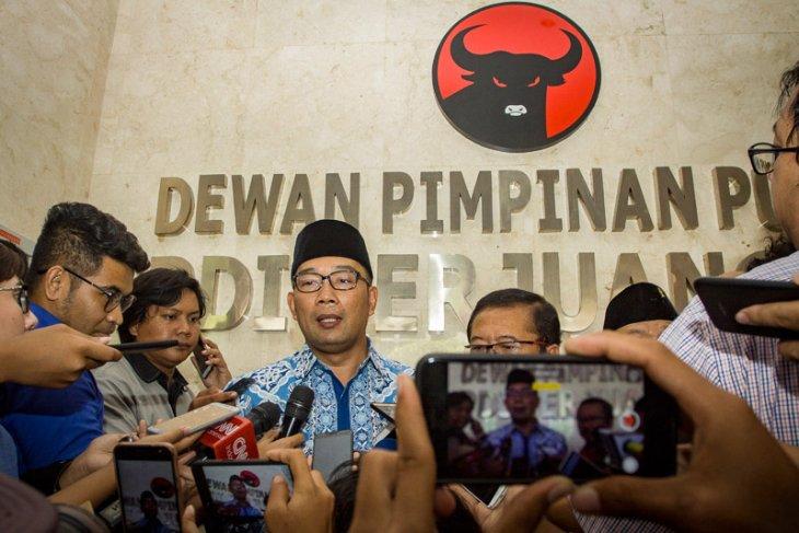 Ridwan Kamil Datangi DPP PDIP