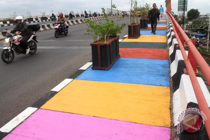 Pemkot Bekasi ubah desain pedestrian sterilkan pemotor