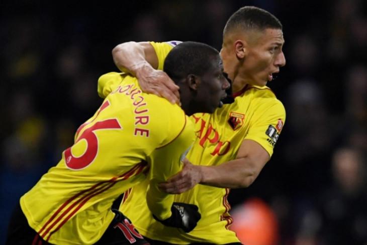 Kemenangan Southampton lenyap gara-gara gol dramatis Watford, 2-2
