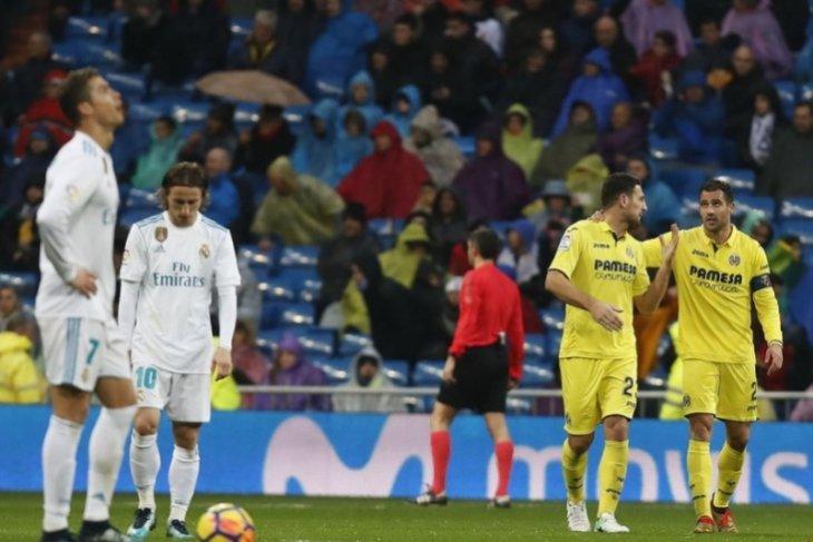 Real Madrid kalah 0-1 dari Villarreal di Bernabeu