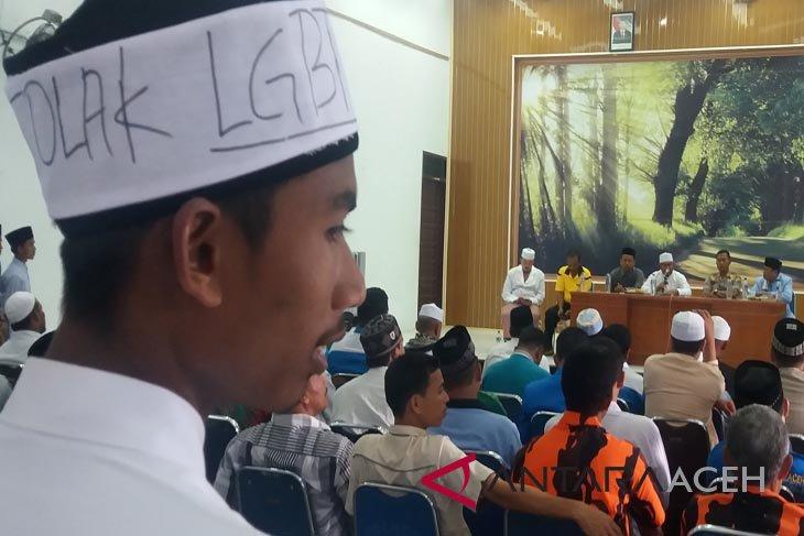 Puluhan Ormas dukung Polres Aceh Utara