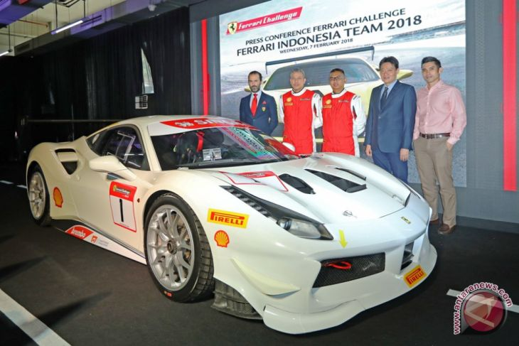 Lima pebalap Indonesia ikut Ferrari Challenge 2018