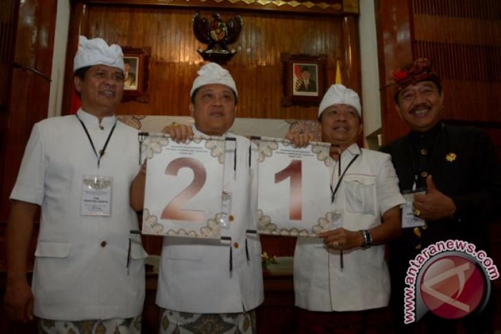 KPU tetapkan nomor urut peserta Pilkada Bali