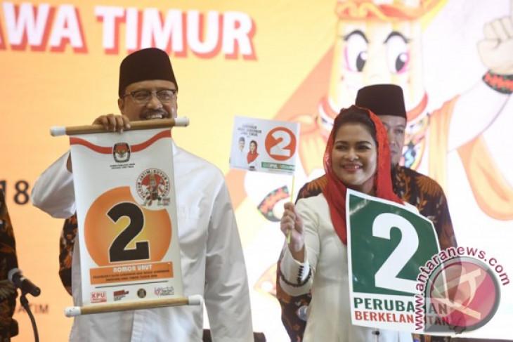 Relawan Jokowi janjikan suara dukung Gus Ipul-Puti