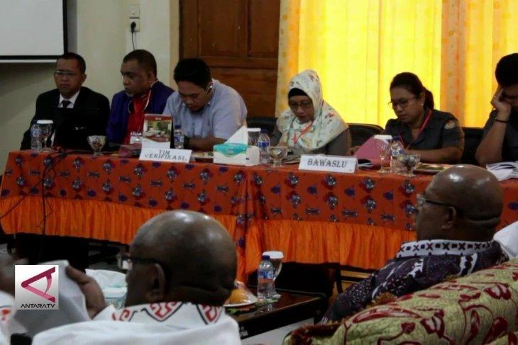 Pleno penetapan Cagub-Cawagub Papua ditunda