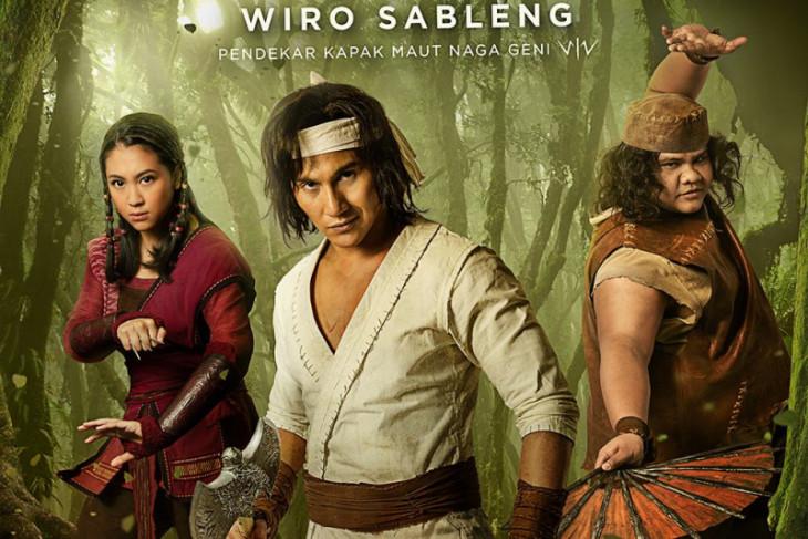 """Intip tiga karakter utama film """"Wiro Sableng"""""""