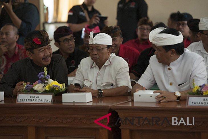 Kedua peserta pilkada Bali ajak kampanye santun