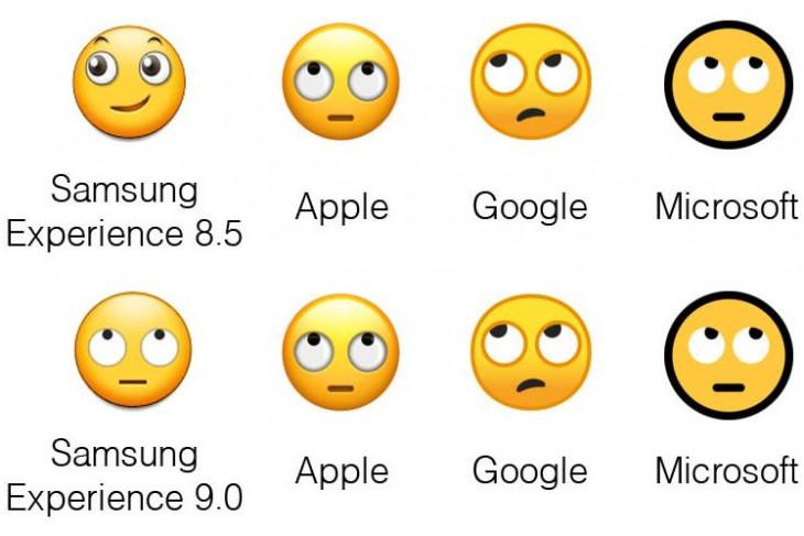 Samsung Experience 9.0 perbaiki ekspresi emoji
