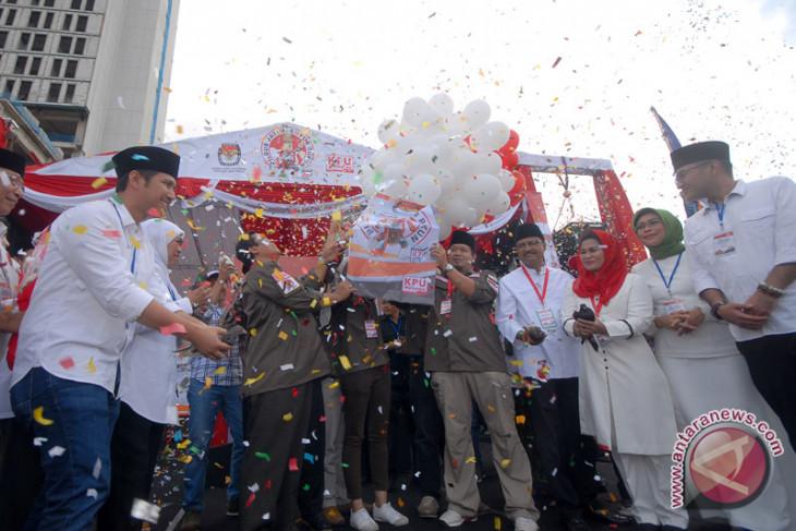 KPU Jatim : Cagub dua kali kampanye akbar