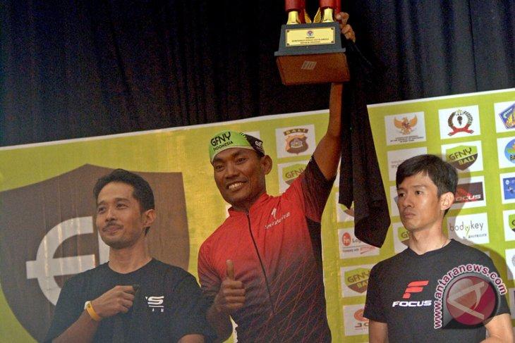 Juara GFNY Bali Juwanto ungkap latihannya, 2.800 km sepanjang Januari