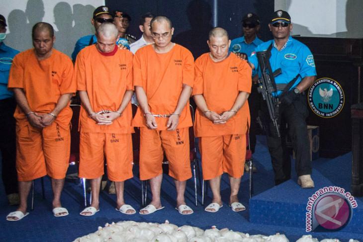 Penyidik bawa tersangka sabu 1,6 ton ke Jakarta besok