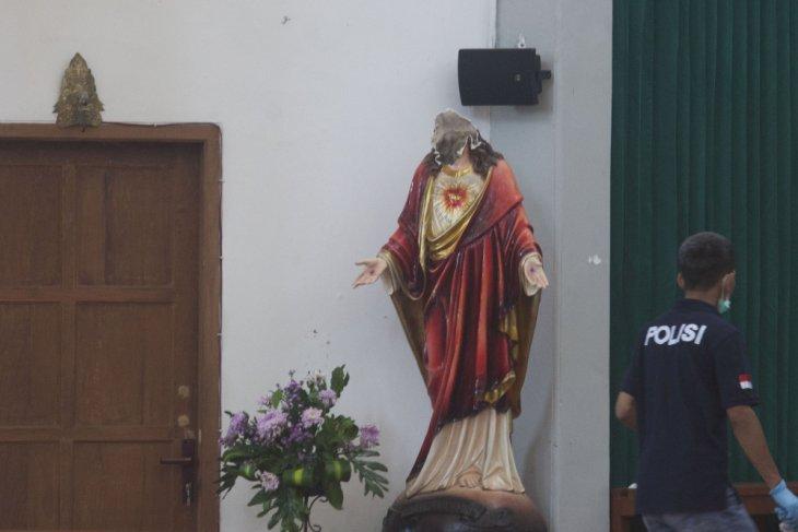 Penyerang Gereja Santa Lidwina dipindahkan ke Jakarta