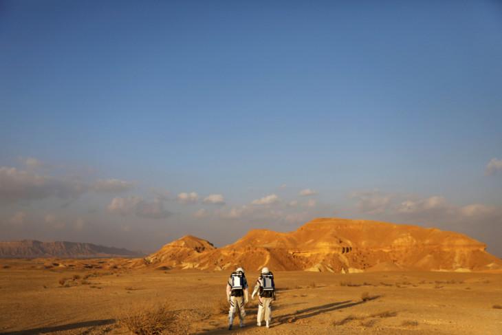 Peneliti Israel selesaikan simulasi hidup di Mars