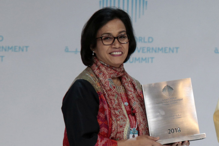 Recognition to mulyani shows Indonesia's economy managed effectively