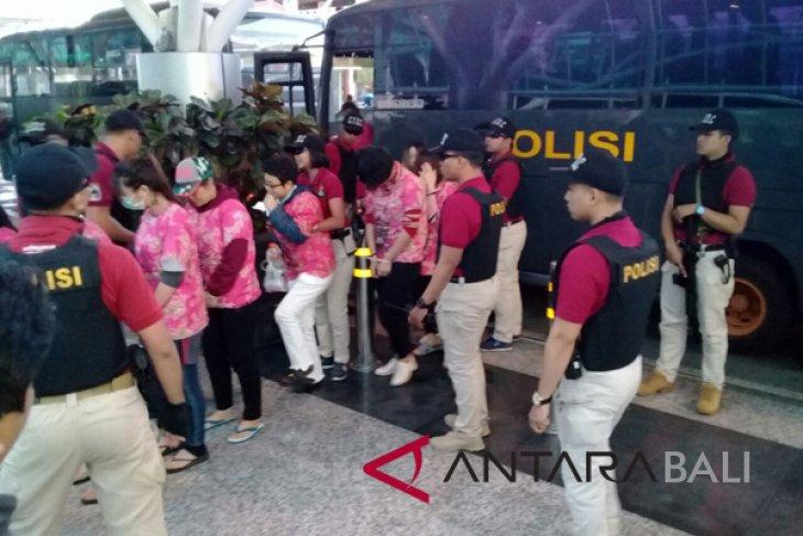 Imigrasi Ngurah Rai deportasi 56 WN Tiongkok dan Taiwan