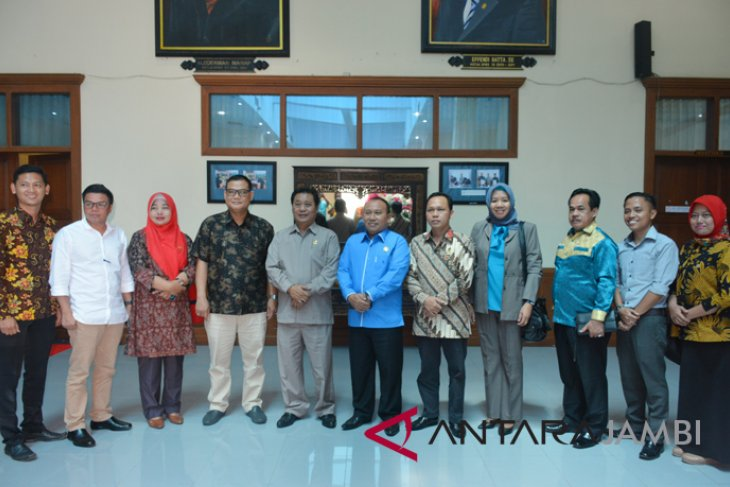 DPRD Provinsi Jambi terima kunjungan DPRD Musi Rawas Utara