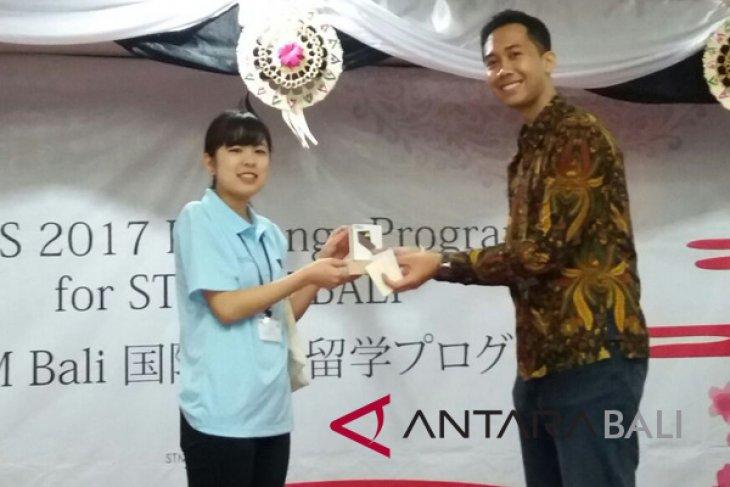 Mahasiswa Kumamoto Jepang kunjungi Stikom Bali