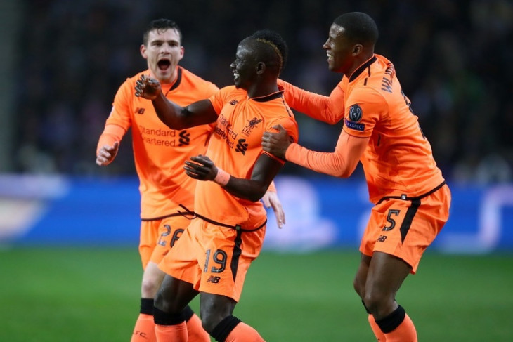 Liverpool pesta gol di markas Porto