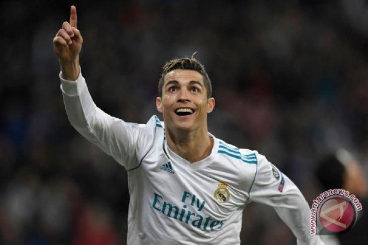 Ronaldo ukir sejarah saat Real Madrid sikat PSG 3-1