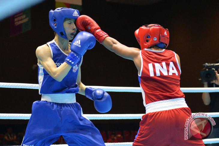 Semifinal Tinju Women's Fly