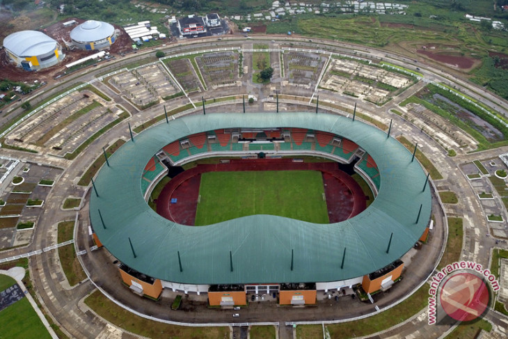 Stadion Pakansari Venue Asian Games 2018
