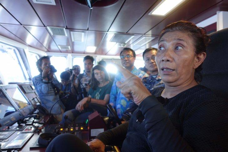 Menteri Susi minta generasi muda jadi ahli laut