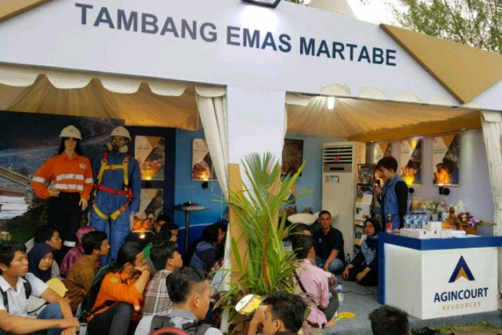 Tambang emas martabe edukasi mahasiswa Sumut