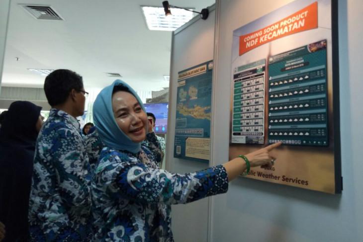 BMKG luncurkan sistem prakiraan cuaca berbasis kecamatan