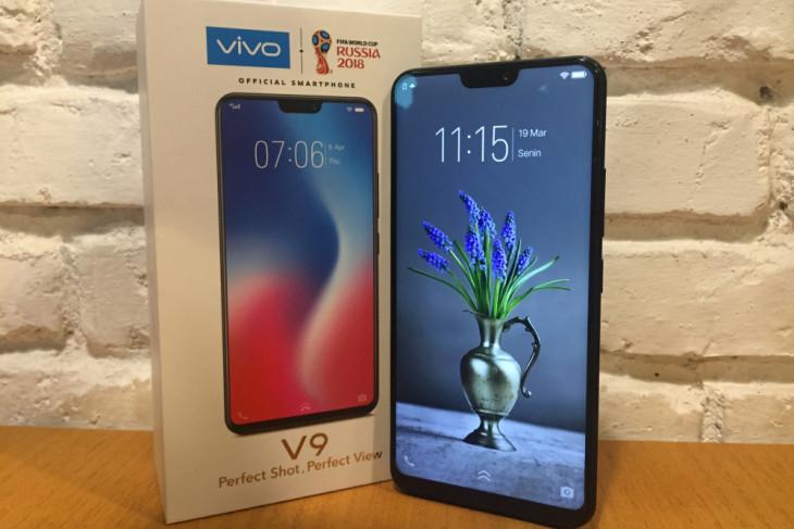 Review - Vivo V9, ponsel swafoto berkamera ganda dengan desain menggoda