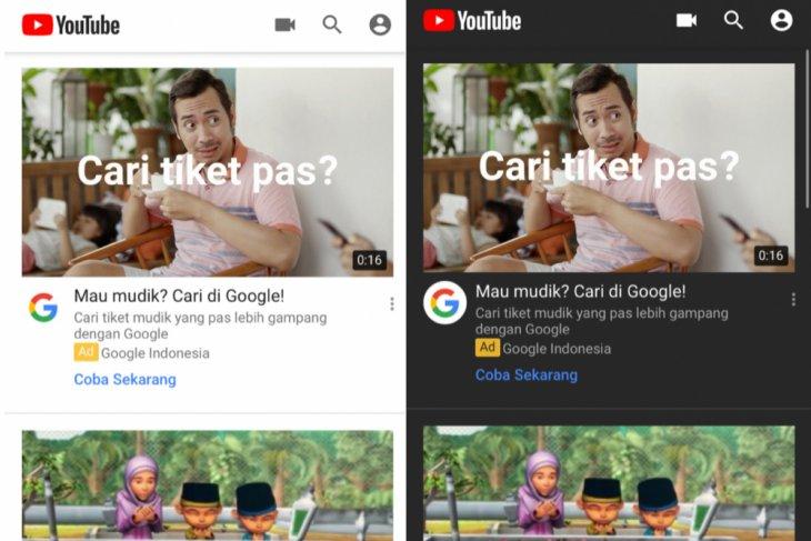 YouTube hadirkan mode gelap di aplikasi iOS