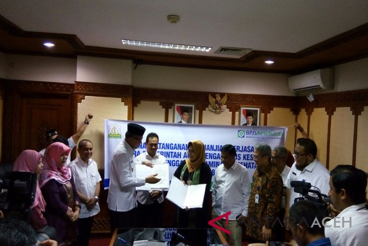Aceh-BPJS Kesehatan tandatangani kerja sama JKA