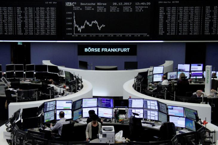 Indeks DAX-30 Jerman berakhir melemah 0,41 persen
