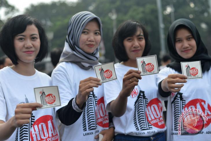 Wartawan dukung pemilu damai tanpa hoaks