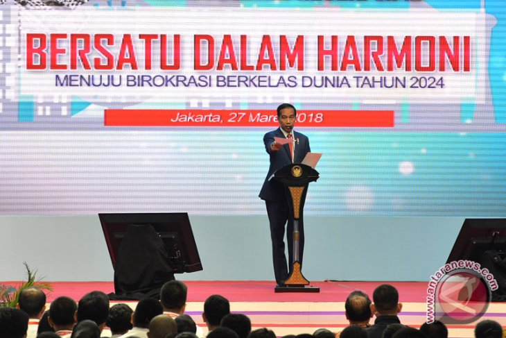 Indonesia will become developed nation if bureaucrats work hard: Jokowi