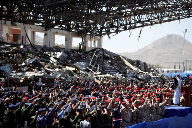 Serangan udara koalisi Saudi tewaskan pemimpin Houthi di Yaman