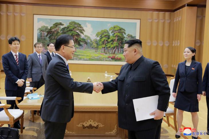 Dua Korea makin mesra