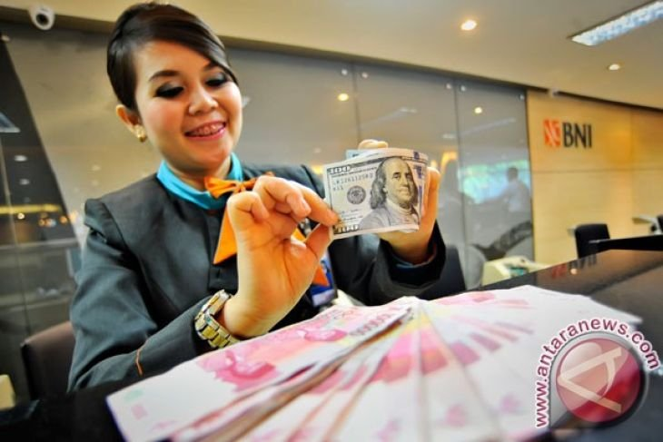 Indonesian currency rises slightly before BI's  governor bpard meeting