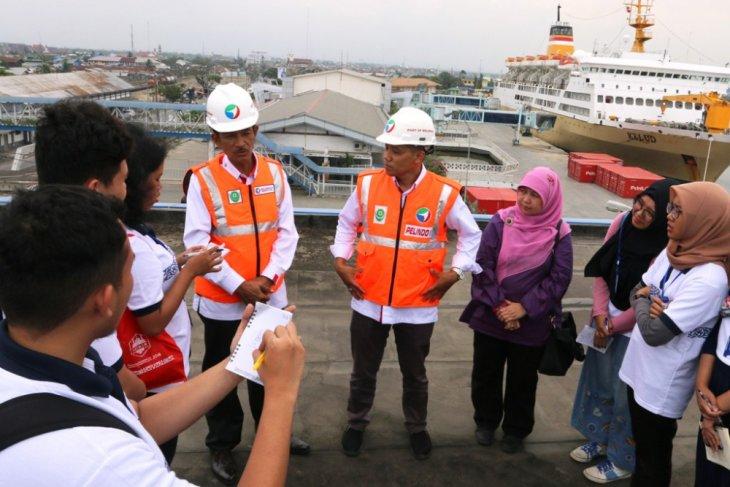Pelindo 1 edukasi mahasiswa teknik industri tentang pelabuhan dan maritim