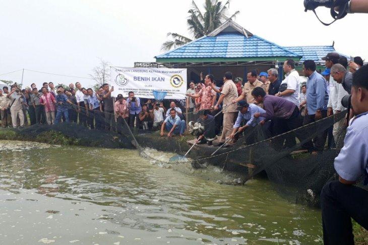 Budidaya perikanan Muarojambi 20 ton per hari