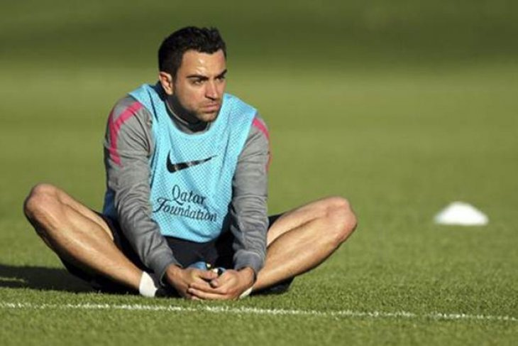 Mantan kapten Barcelona Xavi nilai Qatar lebik baik dari pada Spanyol