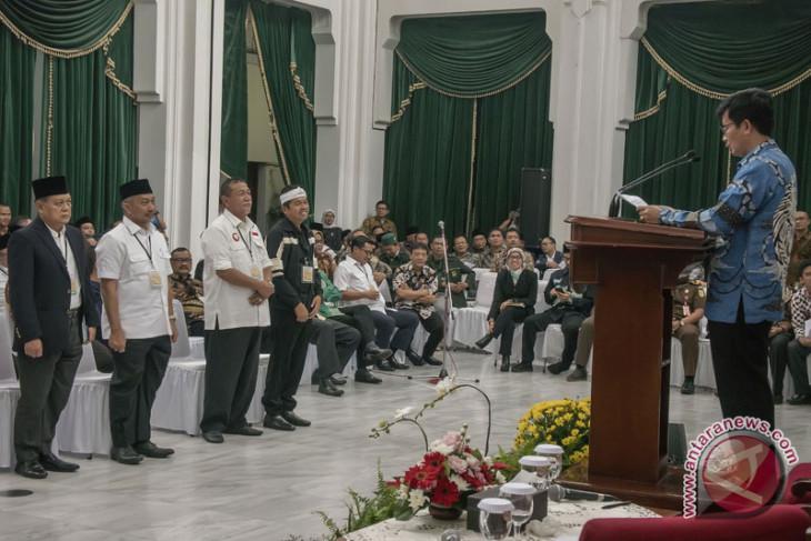 Deklarasi LHKPN calon kepala daerah Jabar